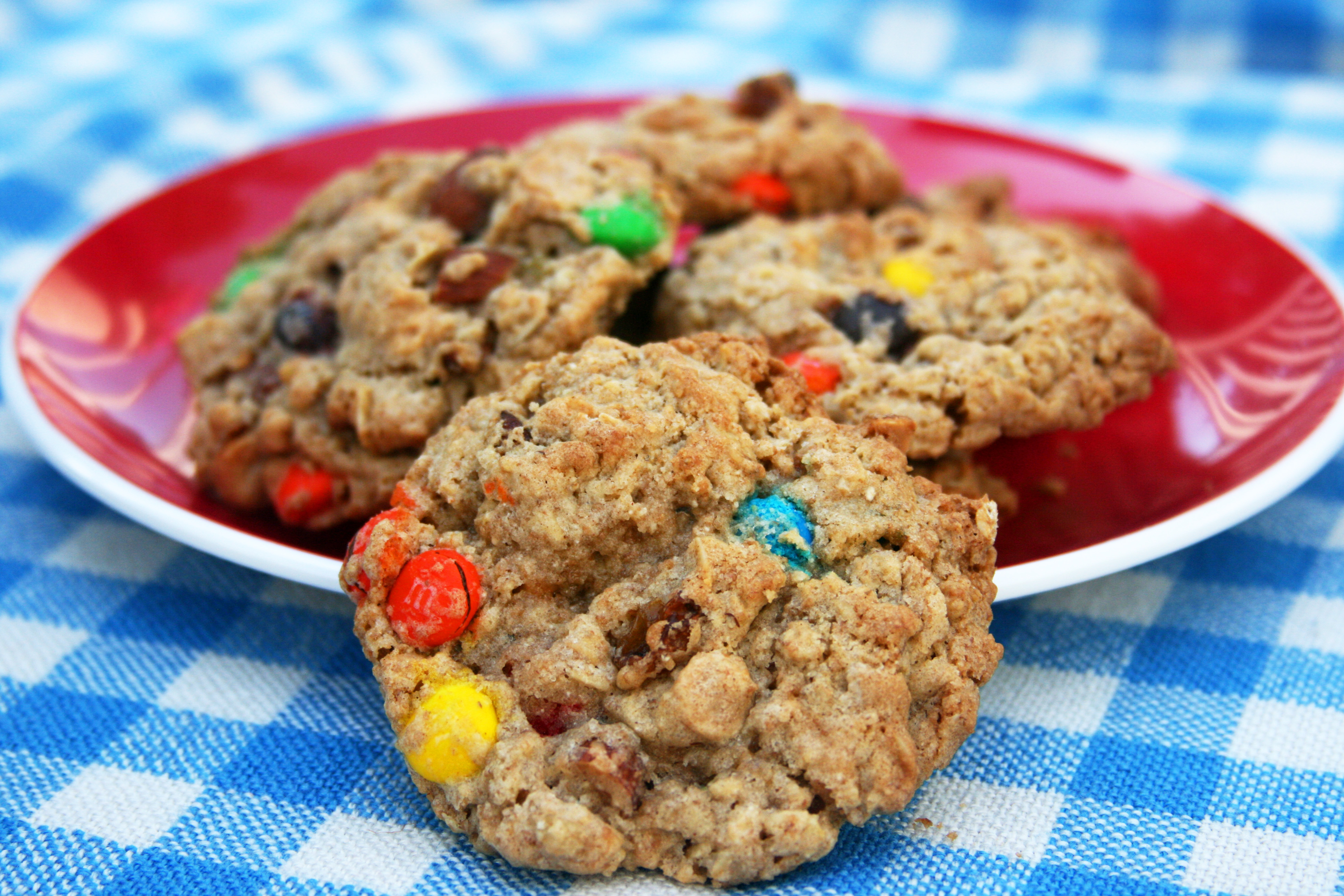 Recipe for trail mix cookies