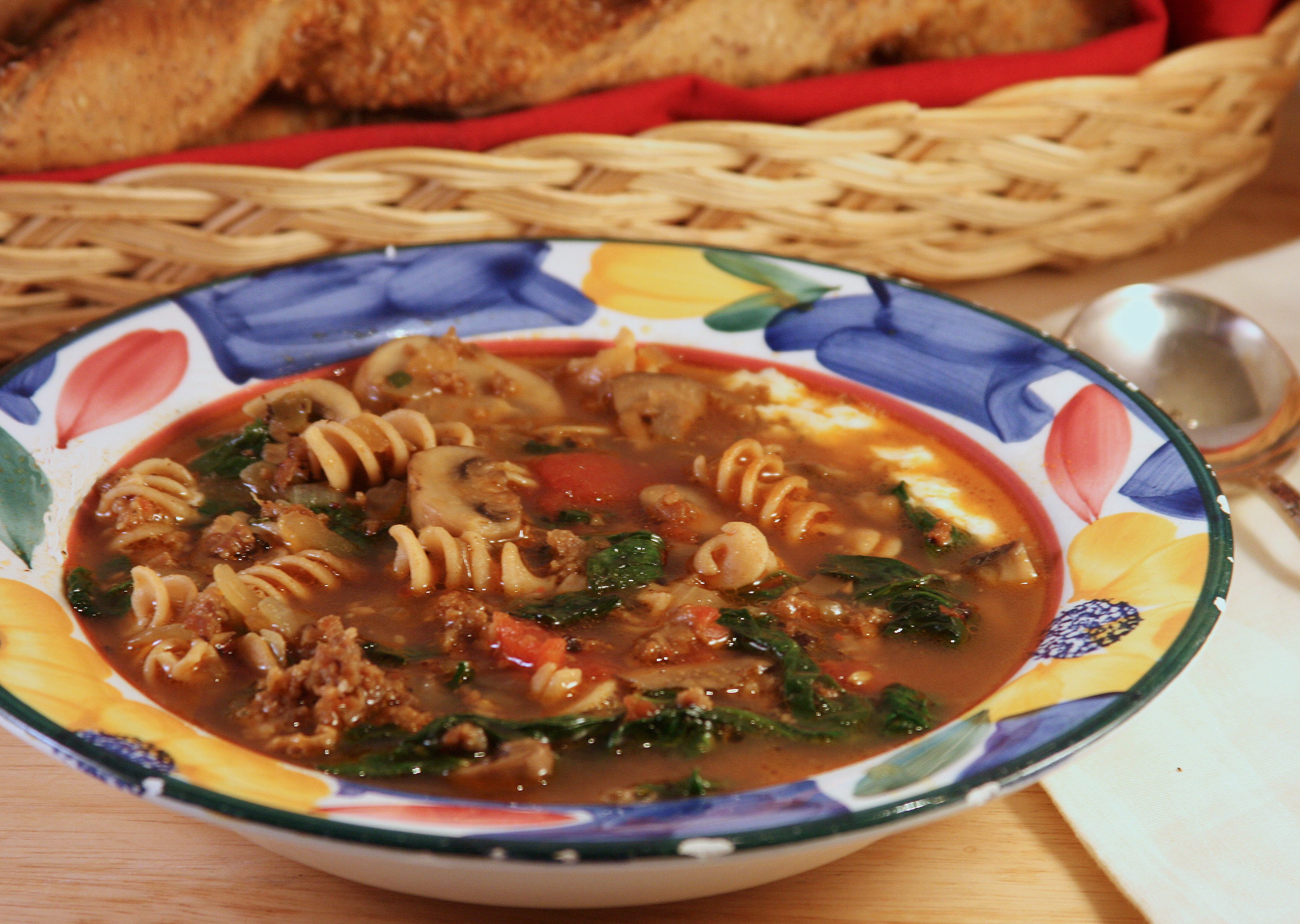 Hodgson Mill Recipe Blog | Lasagna Soup with Whole Wheat Spiral N