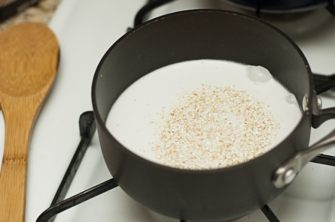 brilliant coconut milk & buckwheat cereal
