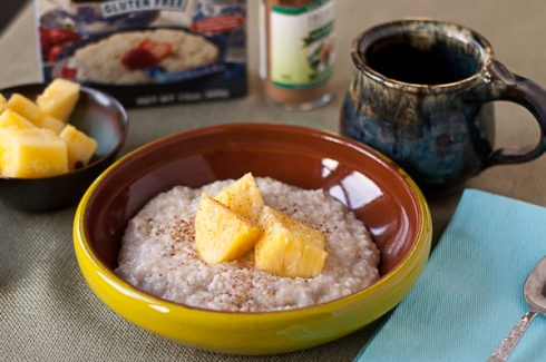 gluten-free tropical sunrise buckwheat cereal