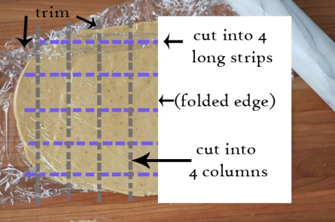 gf plum anise bar cookie cut diagram