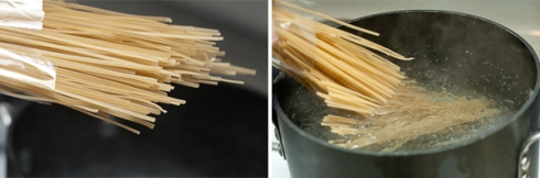 cooking gluten-free linguine